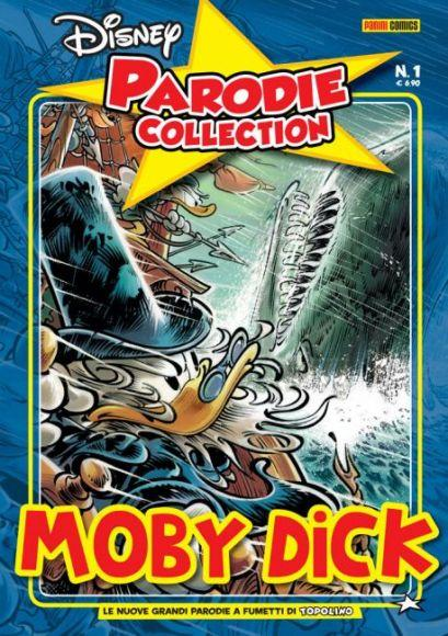 moby dick copertina