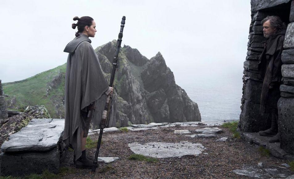 Rey Daisy Ridley Gli Ultimi Jedi