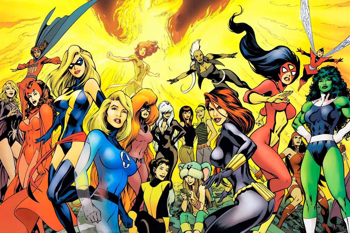 supereroine marvel