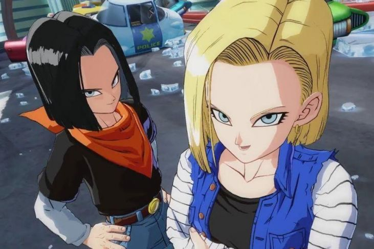 Dragon Ball FighterZ androide 18