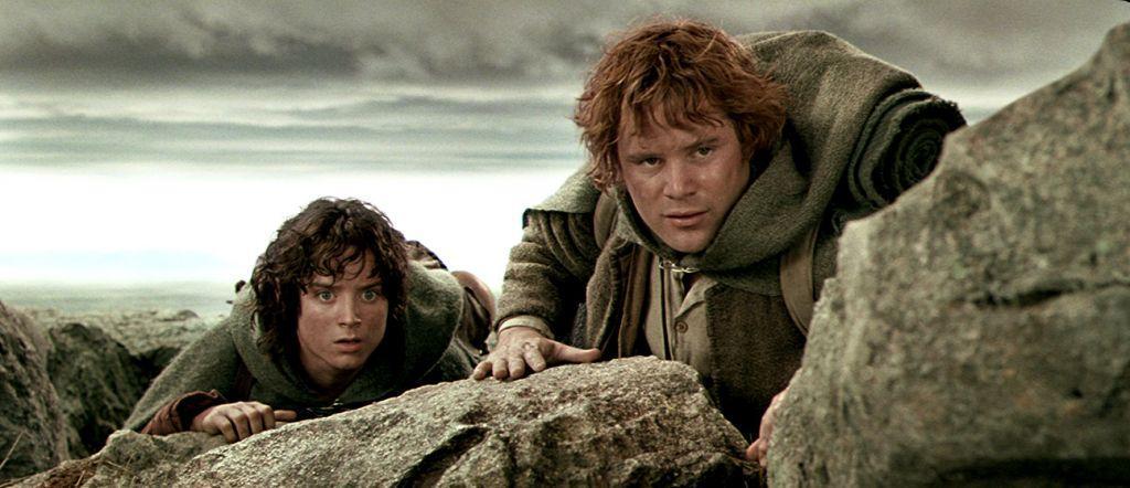 Il Signore degli Anelli Frodo e Sam