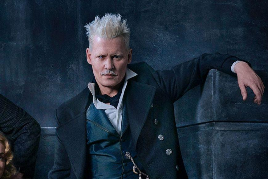 Johnny Depp Grindelwald Animali Fantastici 2
