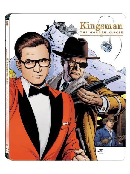 Steelbook Kingsman Il Cerchio d'Oro