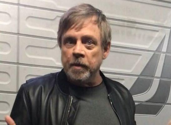 Mark Hamill Disneyland Star Wars