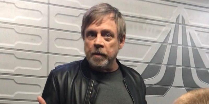 Mark Hamill Disneyland Star Wars