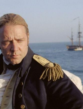 Master and Commander Russel Crowe