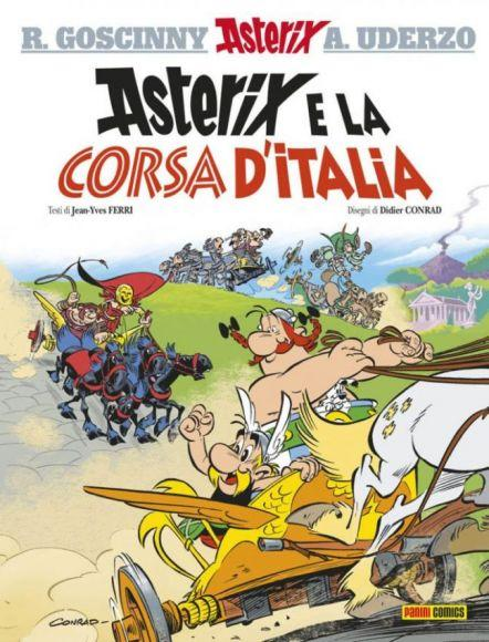 asterix e la corsa d'italia copertina