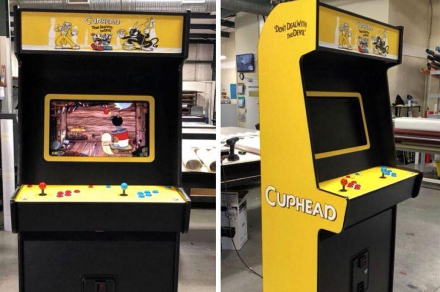 cuphead cabinato arcade