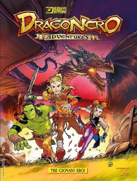 dragonero adventures copertina