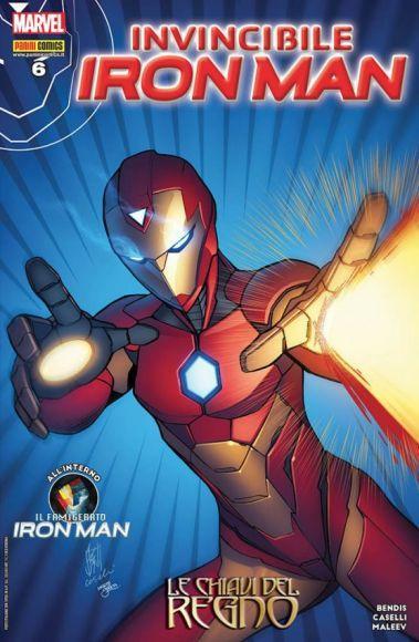 invincibile iron man 6 copertina