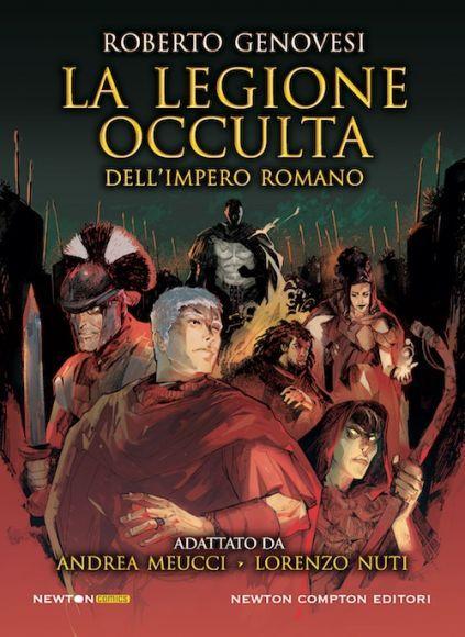 la legione occulta dell'impero romano copertina