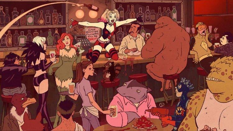 harley quinn serie animata dc entertainment