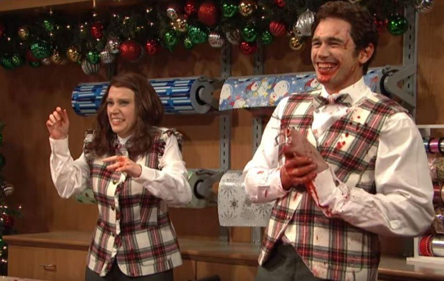 James Franco SNL Natale