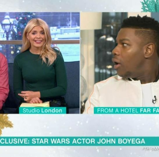 John Boyega Star Wars Gli Ultimi Jedi This Morning