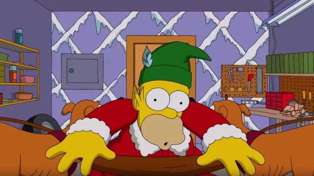 Natale anche per I Simpson
