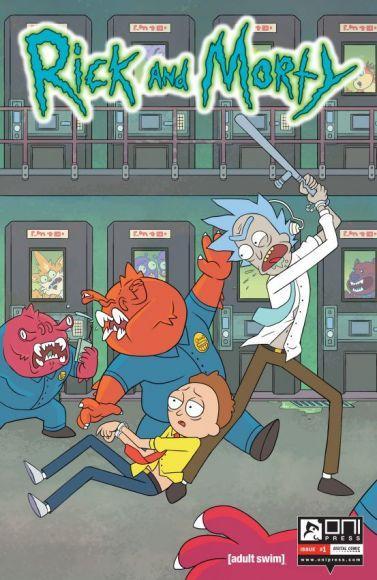 I Fumetti di Rick e Morty