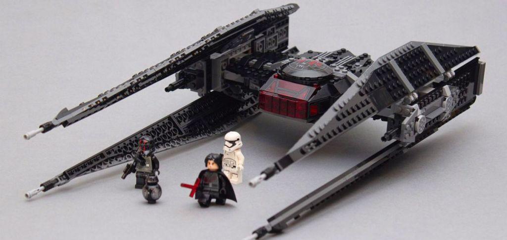 TIE silencer LEGO
