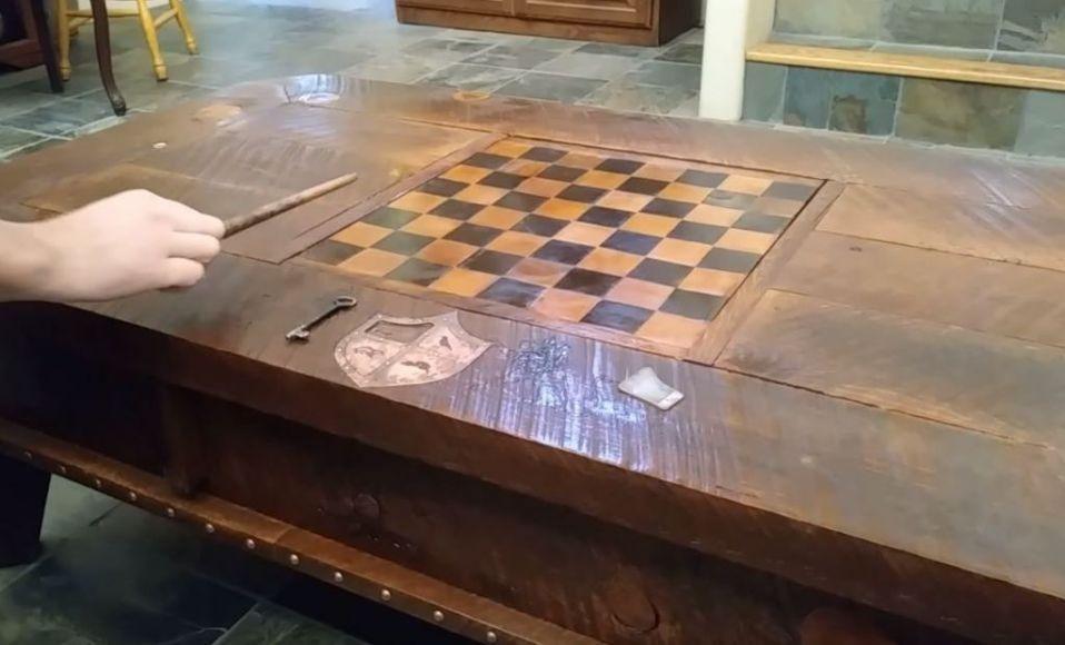 Tavolino a tema Harry Potter
