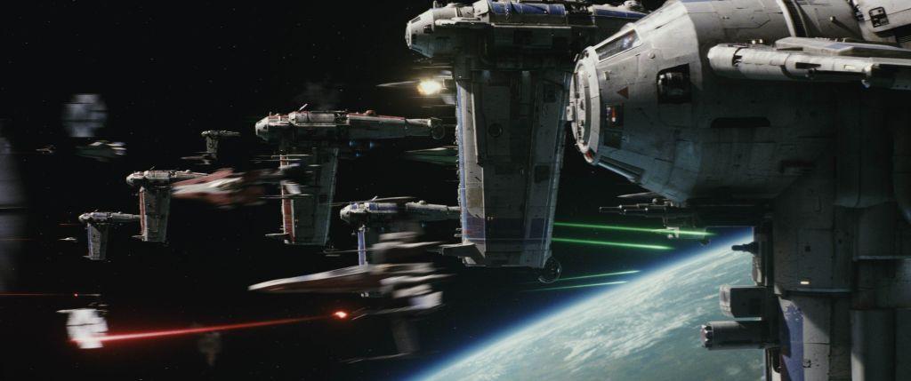 The_Last_Jedi_Space_Battle star wars