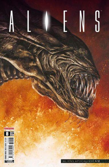 aliens 8 copertina