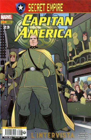 capitan america 23 copertina