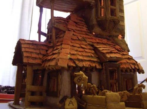 casa della famiglia Weasley pan di zenzero
