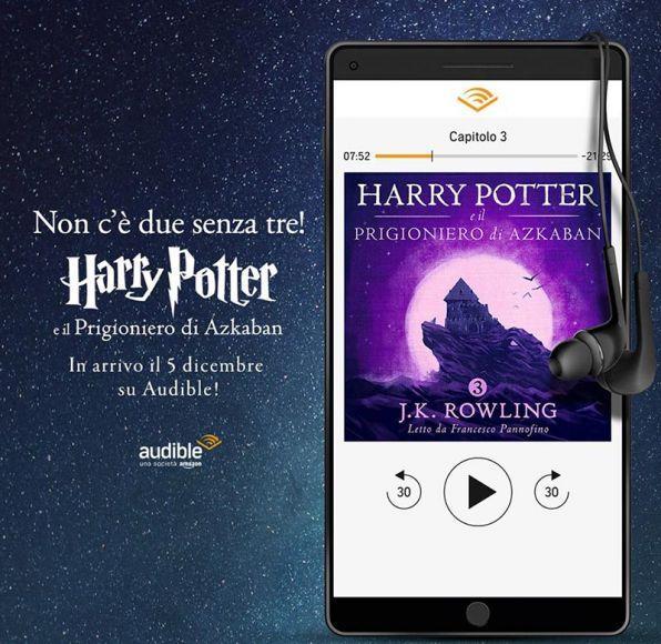 Harry Potter e il Prigioniero di Azkaban audible