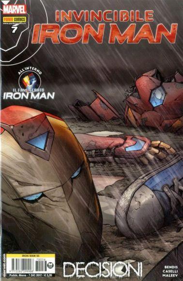 invincibile iron man 7 copertina