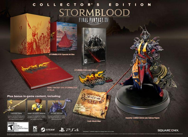 natale final fantasy xiv collector edition