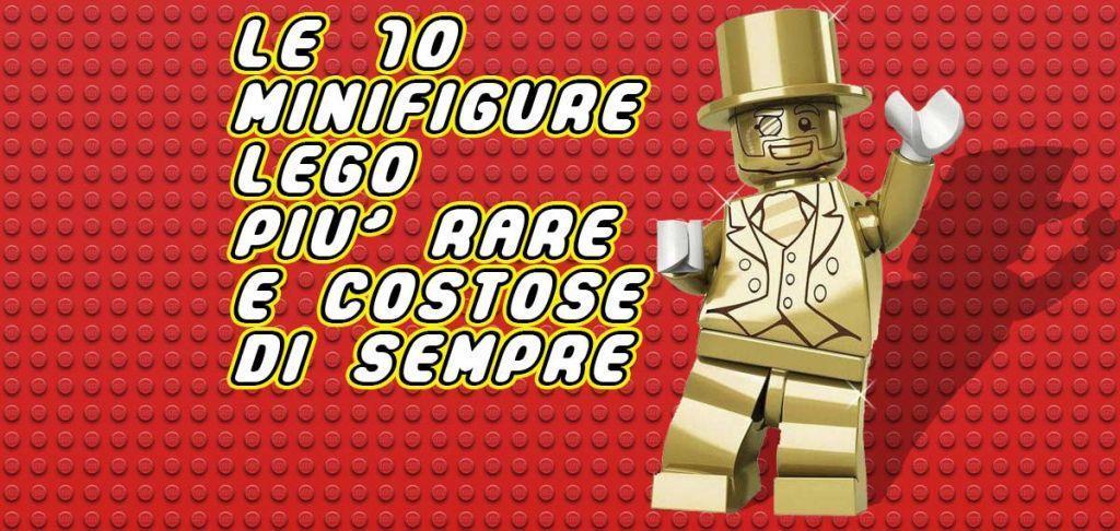 10 minifigure lego rare