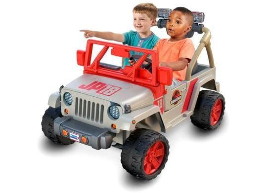 Jeep di Jurassic Park di Fisher Price