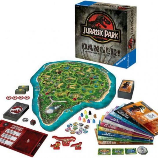 Jurassic Park: Danger Adventure Strategy Game