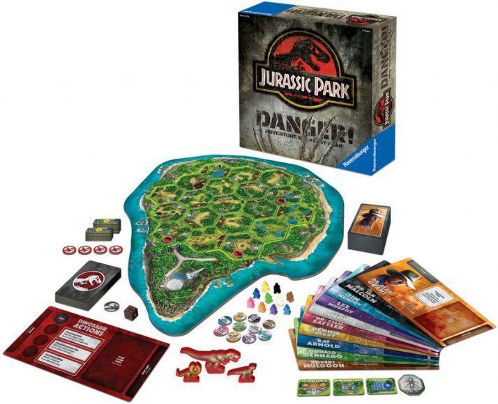 Jurassic Park: Danger Adventure Strategy Game