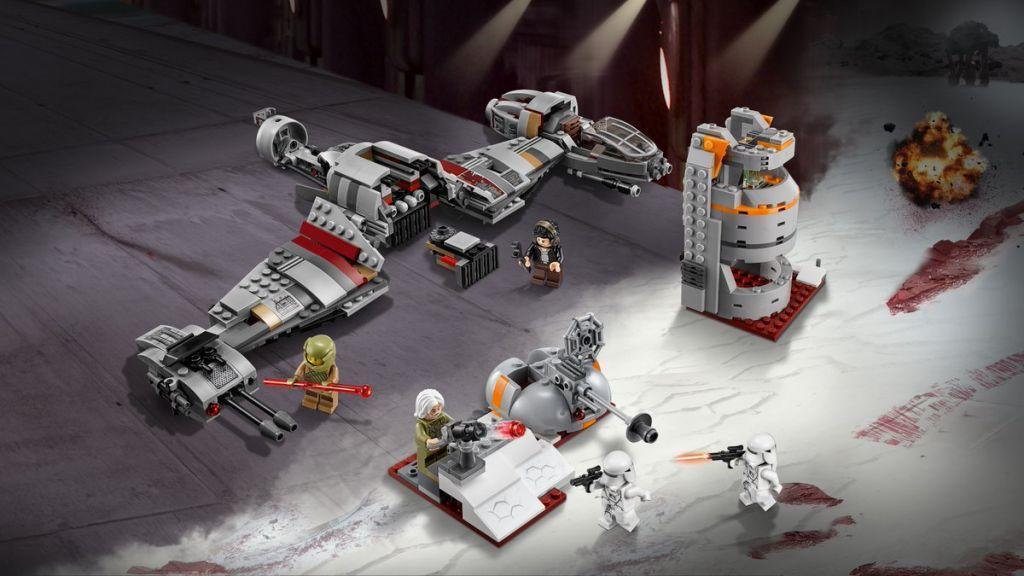 Lego Star Wars Battaglia di Crait