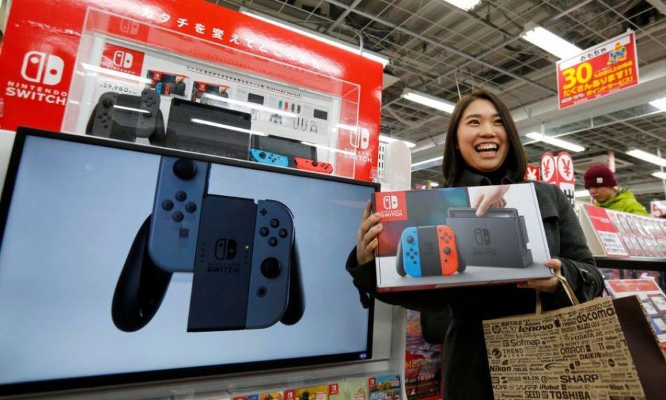Nintendo Switch Giappone