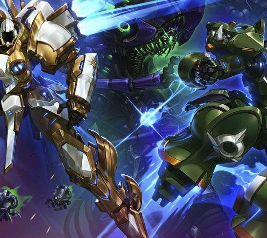 mech di Heroes of the Storm