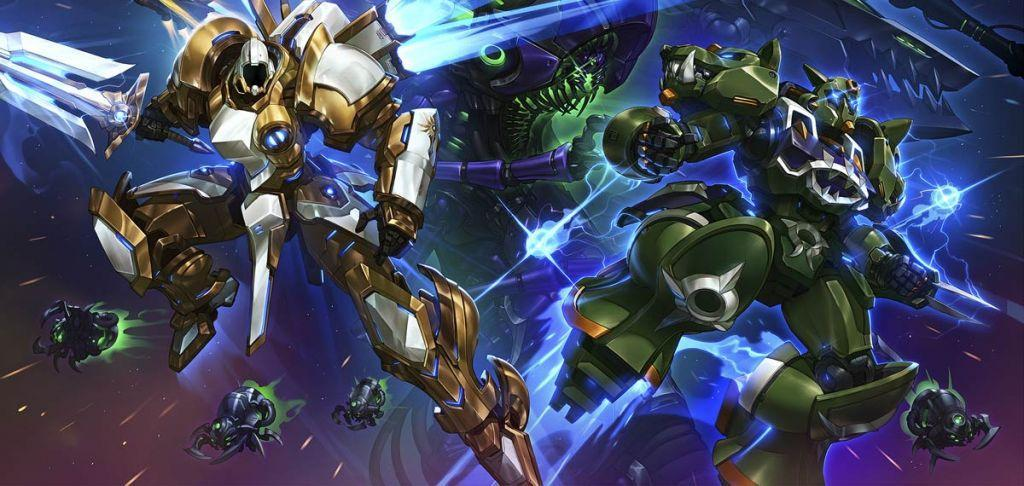 mech diHeroes of the Storm