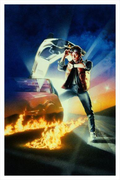 Poster di Ritorno al Futuro