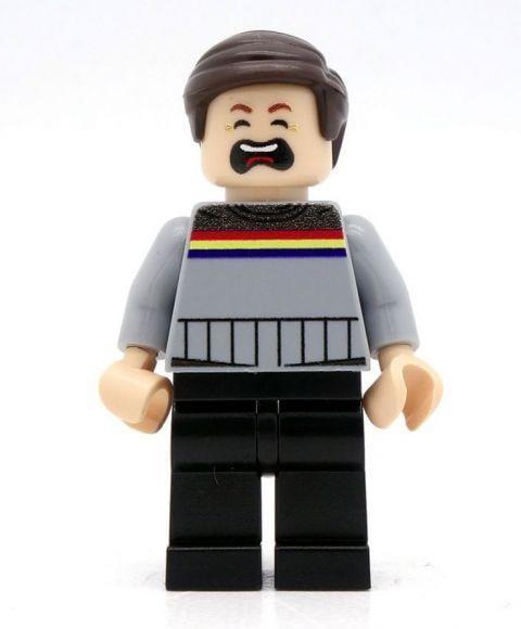 Wil Wheaton Wesley Crusher LEGO