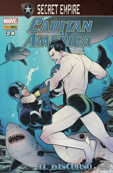 capitan america 24 copertina