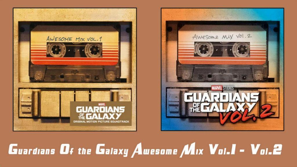 i guardiani della galassia rilanciano le audiocassette