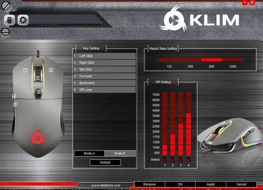 klim aim backlight