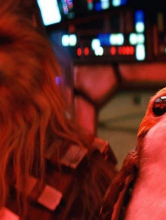 star wars chewie porg