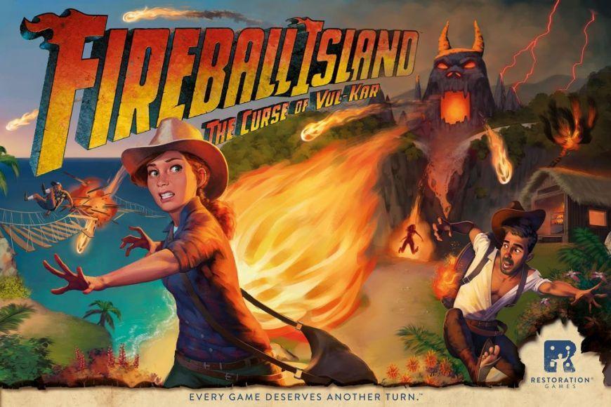 L'Isola di Fuoco Fireball Island
