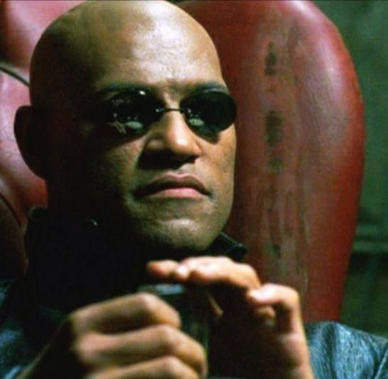 Morpheus Matrix Laurence Fishburne