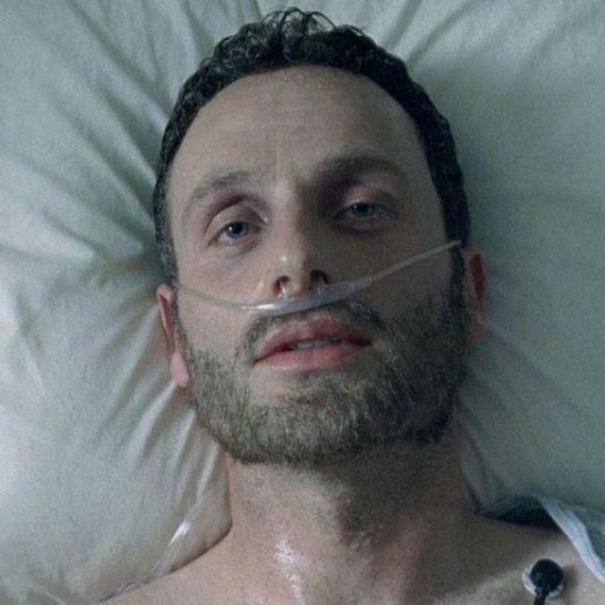The Walking Dead Rick Grimes Coma