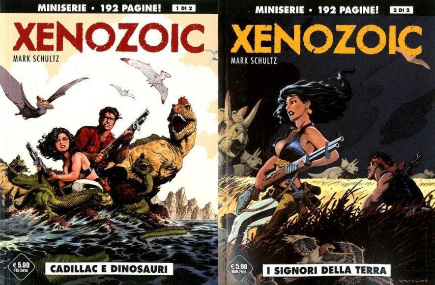 XENOZOIC tales 1