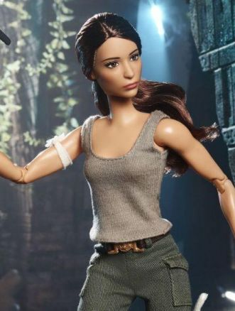 Barbie di Tomb Raider