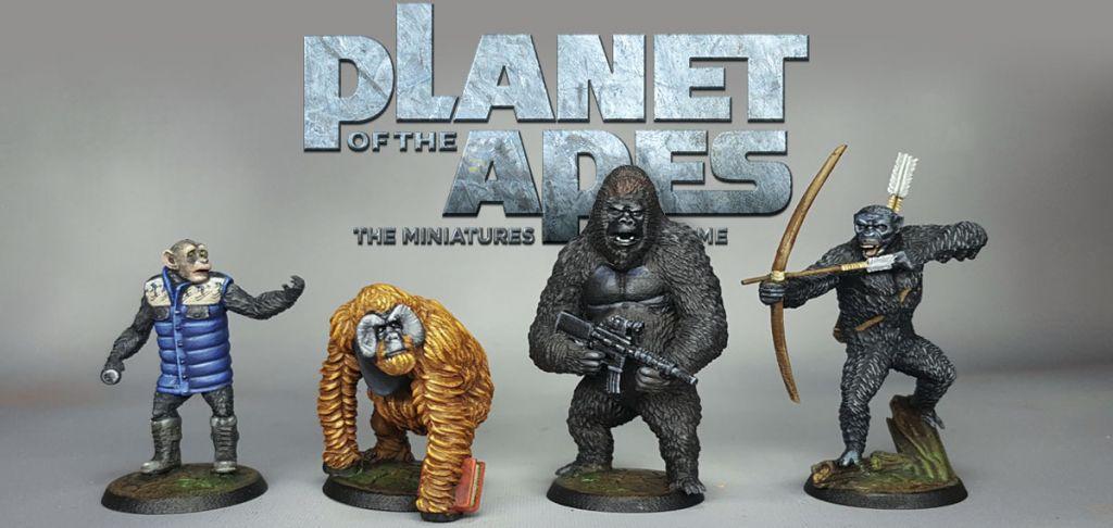 gioco di miniature de Il Pianeta delle Scimmie