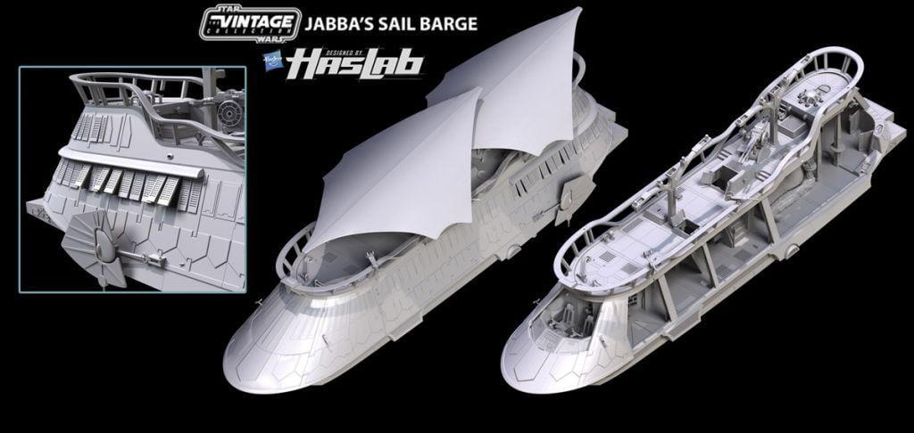 nave a vela di Jabba
